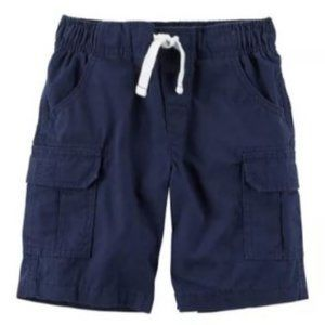 Carter's Solid Cargo Shorts -Set of 2 Toddler Boys